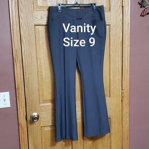 Vanity Gray Deess Pants Size 9